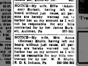<i>The Indiana Gazette</i>, Indiana, Pennsylvania, 27 June 1940, page 13, col. 2