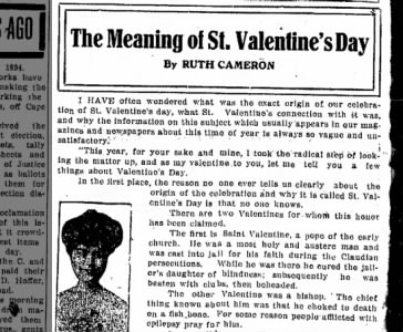 the meaning of st valentines day