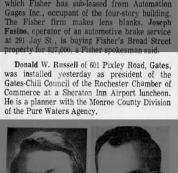 1974019 GCC elects Don Russell as President