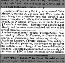 Horatio Poling has chickens stolen, 29 Sept 1846, p. 2