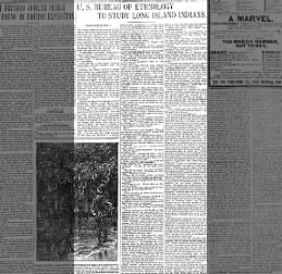 Brooklyn Daily Eagle 16 Feb1902 Sun page 45 - Montauk Indians