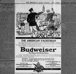 Great Advertisement 1909 Yachting :)