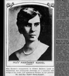 margaret engagement 3/23/1930