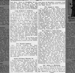 Waacks, Herman jr, KIA 1918