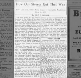 how our streets got that way - 4/29/29