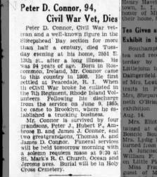 My GGGrandfather's obit