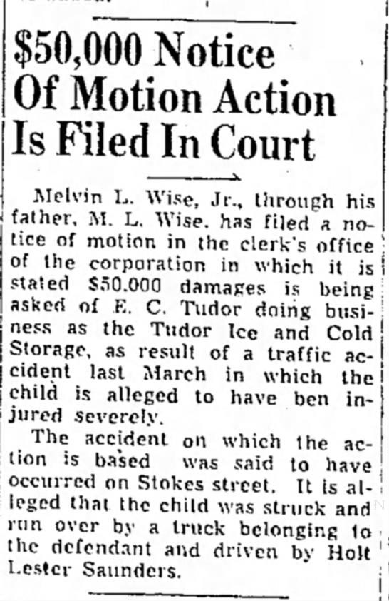 Melvin L. Wise Jr. 1945