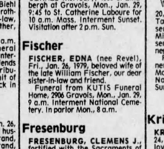 Edna Fischer