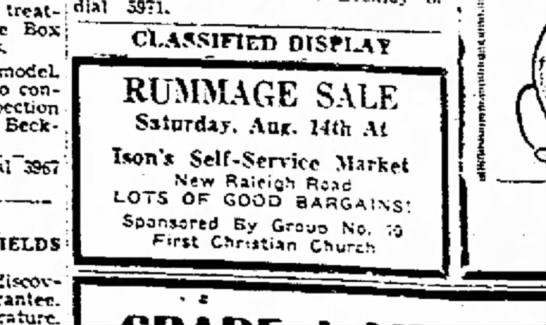 Ison's Self Service Market
