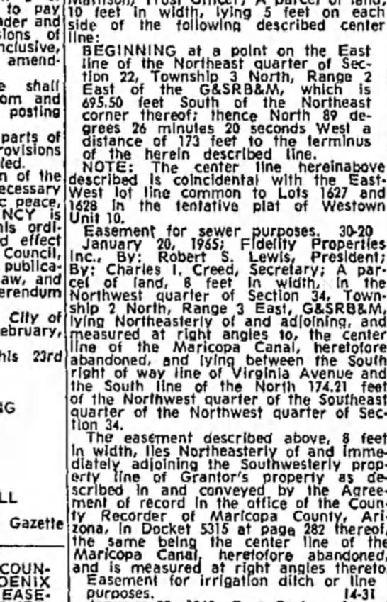 Phoenix Gazette 9 March 1965