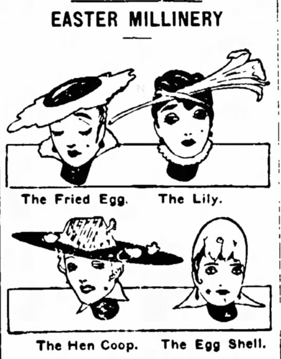 Easter-themed Hats