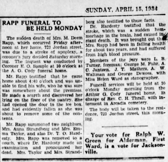 Jacksonville Daily Journal,April 15, 1934 pg 2
