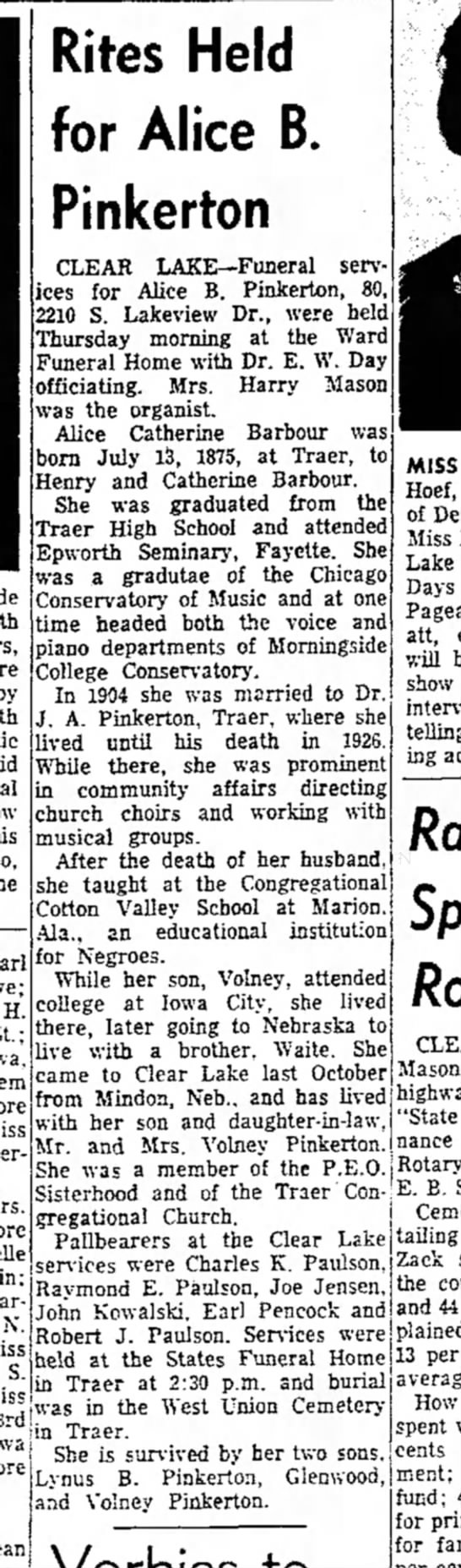 The Mason City Globe-Gazette (Mason City, Iowa) 29 Jul 1955