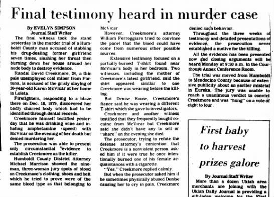 Ukiah Daily Journal, Ukiah, CA 31 Dec 1980, page 1