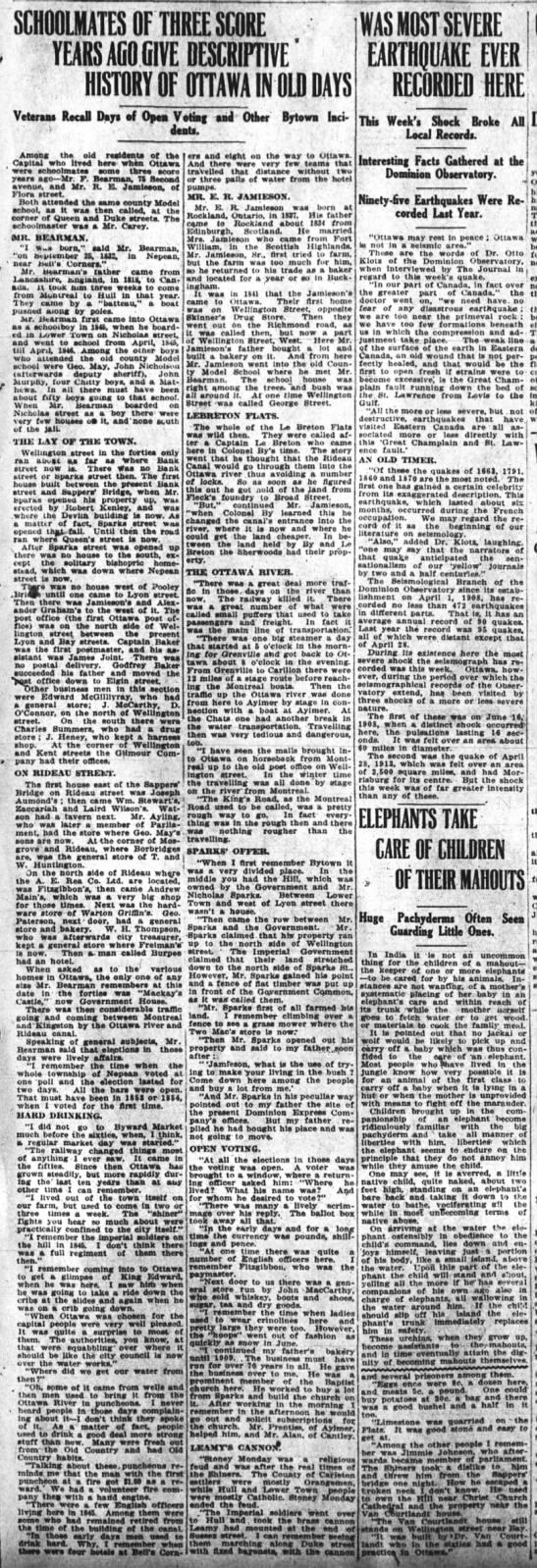 Old Ottawa (Bytown) History