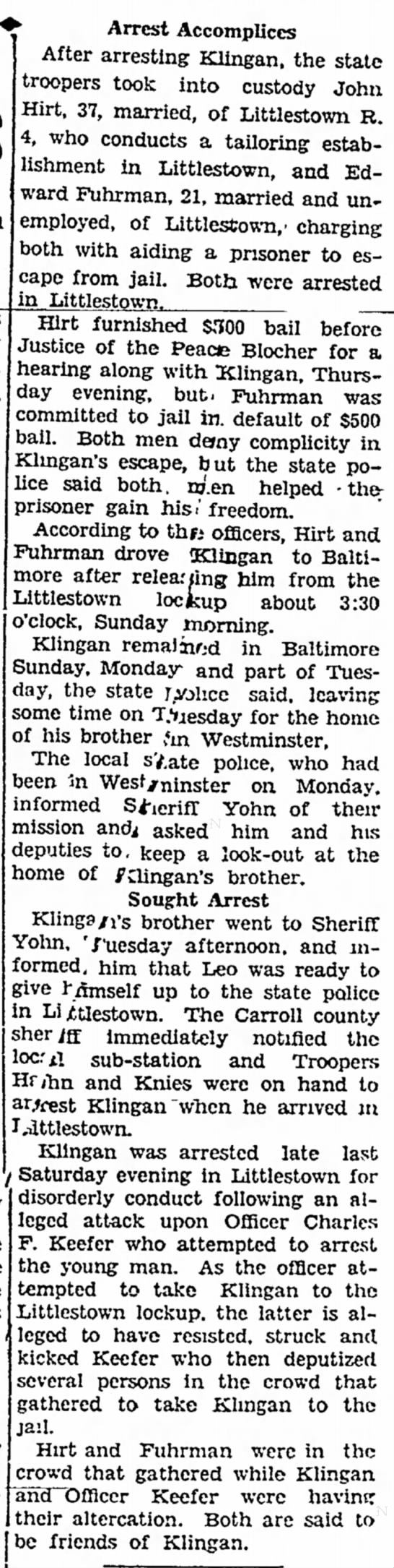 1932 John Hirt helps in escape page 2 of 2