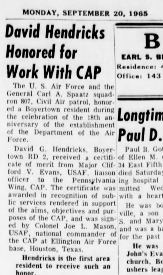 save for review, PA 1965