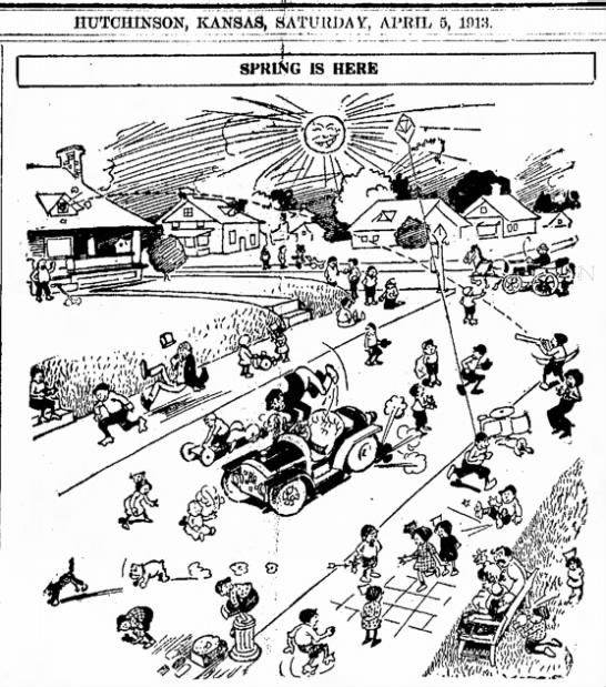 Spring Break hasn't changed much since 1913.