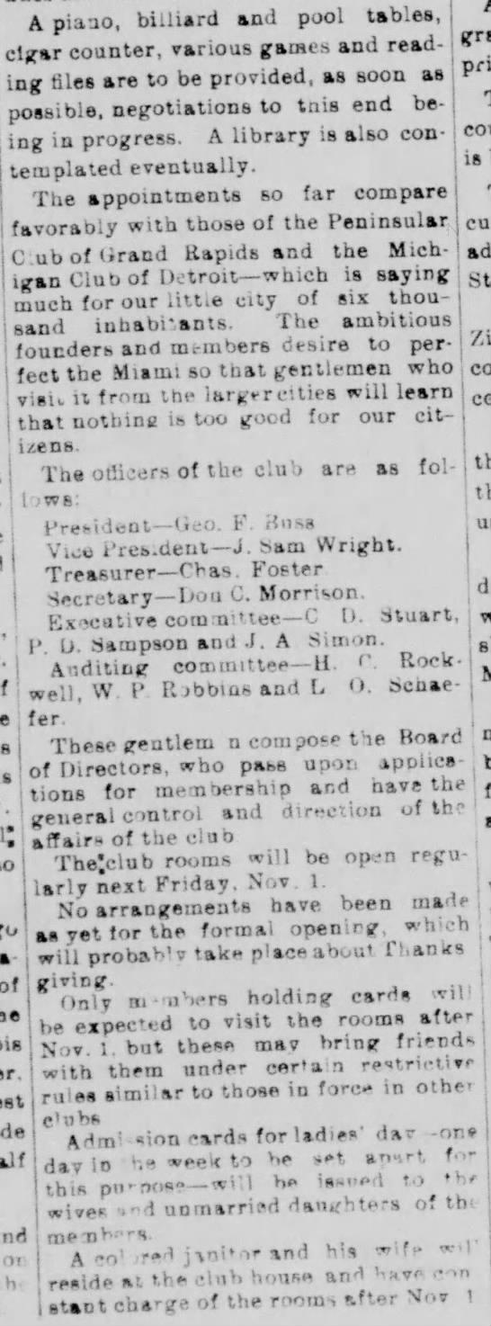 Wright, J Sam - story part C - The Semi-Weekly Palladium 10-29-1895
