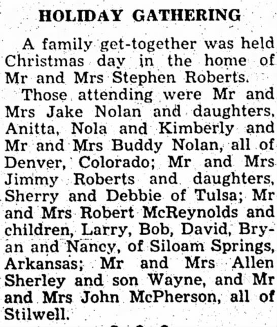 Jake, 9 Jan 1964