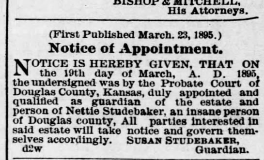 4/13/1895 Lawrence Daily Journal