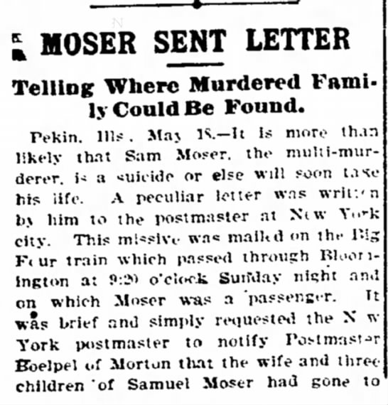 Moser sent letter Decatur paper 5.18.1900 part 1