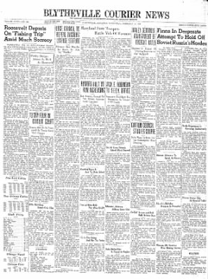 The Courier News from Blytheville, Arkansas on February 14, 1940 · Page 1