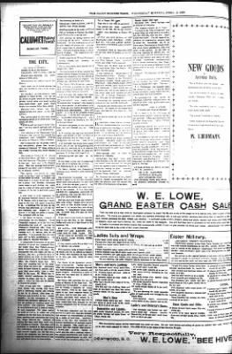 The Daily Deadwood Pioneer-Times from Deadwood, South Dakota on April 12, 1899 · Page 8