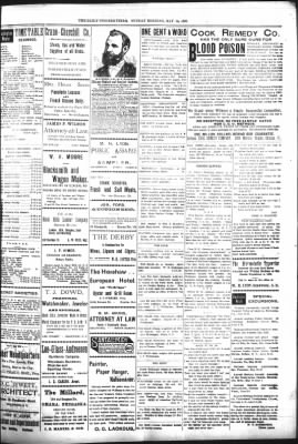The Daily Deadwood Pioneer-Times from Deadwood, South Dakota on May 14, 1899 · Page 3