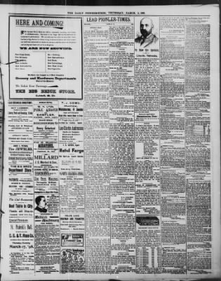 The Daily Deadwood Pioneer-Times from Deadwood, South Dakota on March 3, 1898 · Page 3