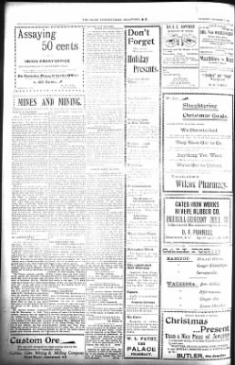 The Daily Deadwood Pioneer-Times from Deadwood, South Dakota on December 27, 1900 · Page 12