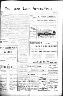 The Lead Daily Pioneer-Times from Lead, South Dakota on May 15, 1900 · Page 7
