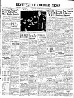 The Courier News from Blytheville, Arkansas on March 30, 1940 · Page 1