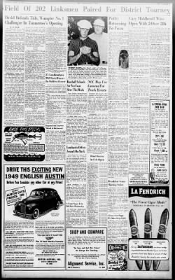 The Indianapolis Star from Indianapolis, Indiana on June 12, 1949 · Page 84