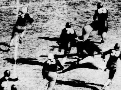 1937 Jack Dodd run vs. Indiana, detail