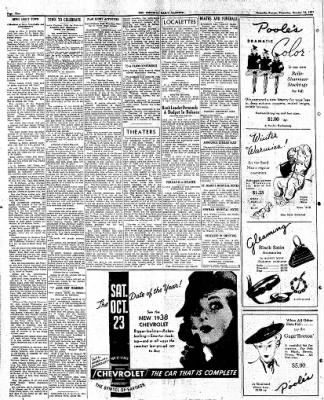 The Emporia Gazette from Emporia, Kansas on October 14, 1937 · Page 1
