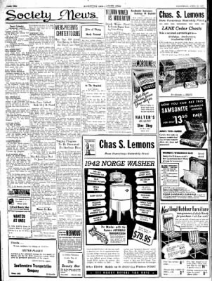 The Courier News from Blytheville, Arkansas on April 22, 1942 · Page 2