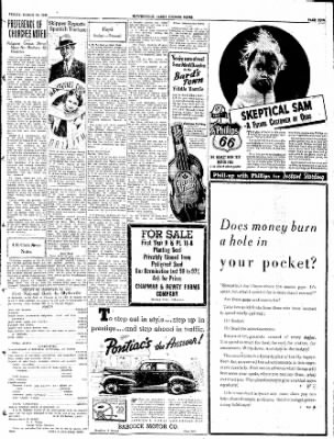 The Courier News from Blytheville, Arkansas on March 18, 1938 · Page 5