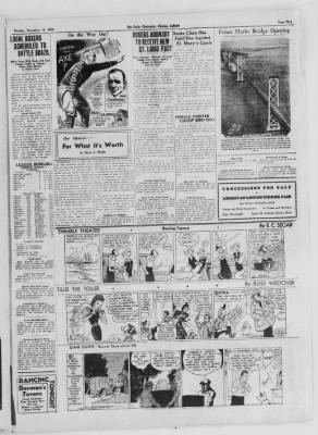 The Daily Clintonian from Clinton, Indiana on November 16, 1936 · Page 5