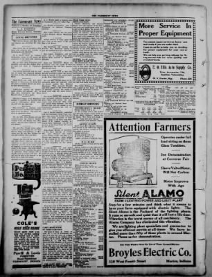 The Fairmount News from Fairmount, Indiana on September 8, 1921 · Page 4