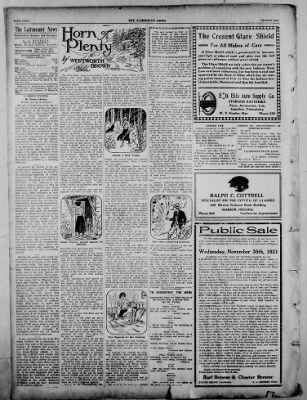 The Fairmount News from Fairmount, Indiana on November 24, 1921 · Page 4
