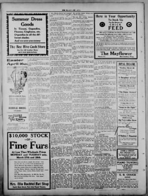 The Fairmount News from Fairmount, Indiana on March 27, 1922 · Page 4