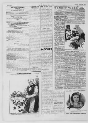 The Daily Clintonian from Clinton, Indiana on January 30, 1937 · Page 4