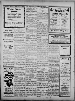 The Fairmount News from Fairmount, Indiana on May 22, 1922 · Page 4