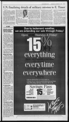 The Palm Beach Post from West Palm Beach, Florida on September 15, 1999 · Page 5