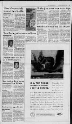 The Palm Beach Post from West Palm Beach, Florida on March 24, 1998 · Page 68