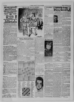 The Daily Clintonian from Clinton, Indiana on September 25, 1944 · Page 4