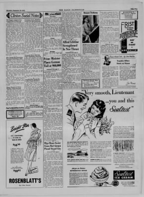 The Daily Clintonian from Clinton, Indiana on September 28, 1944 · Page 5