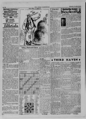 The Daily Clintonian from Clinton, Indiana on November 22, 1944 · Page 6