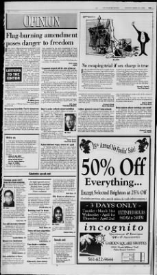 The Palm Beach Post from West Palm Beach, Florida on March 31, 1998 · Page 62